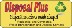 Disposal Plus, LLC - your source for roll-off dumpsters in CT and MA
